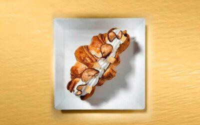 Croissant & ricotta e pere